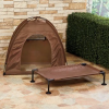 Elevated Dog Camping Tent Set